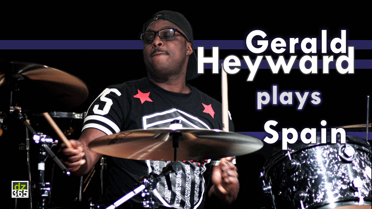 Gerald Heyward recalls 'Spain' at Remo Drummer Night 2017
