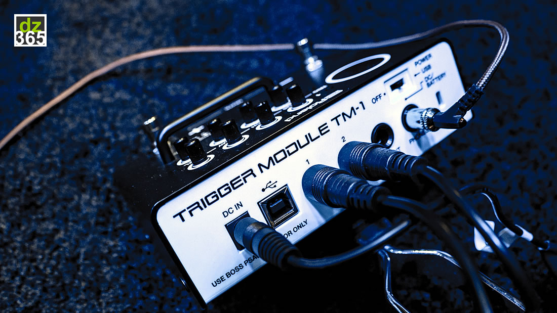 drummerszone news learn the roland tm 1 trigger module in 2 videos. Black Bedroom Furniture Sets. Home Design Ideas