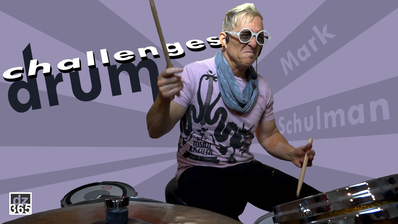 Mark Schulman's personal drum challenges go beyond playing with Pink