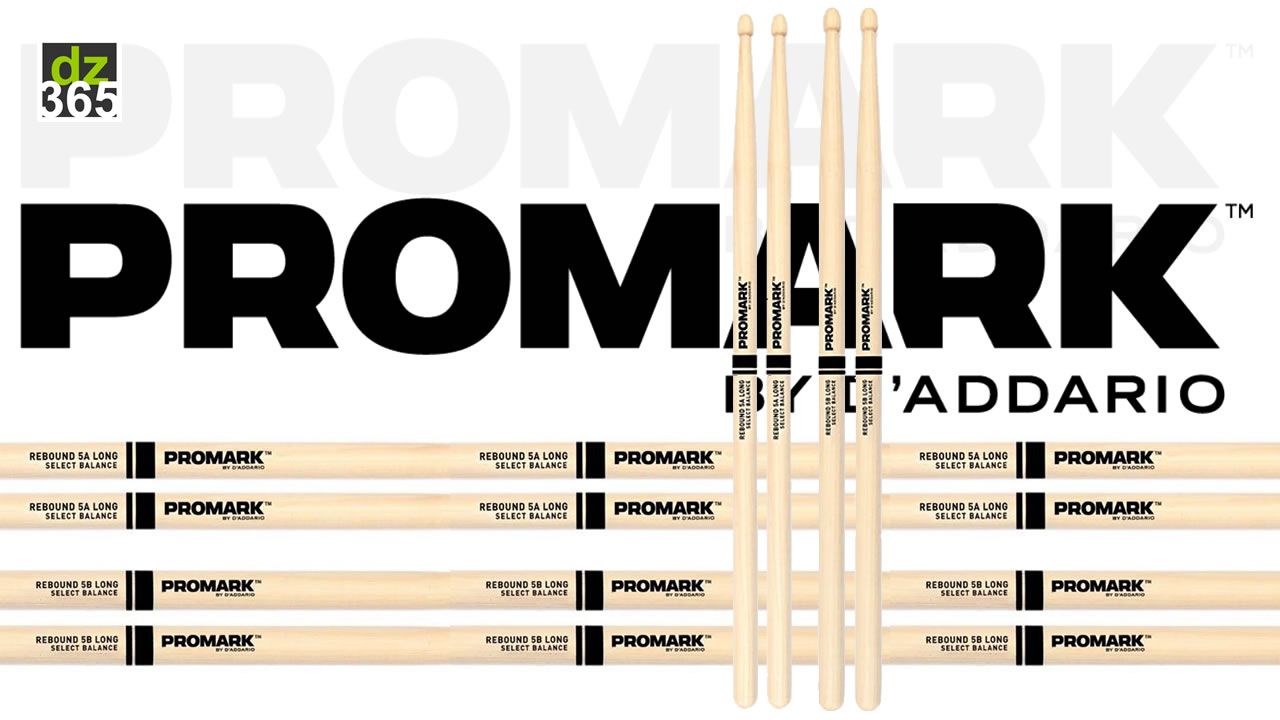 New Promark Select Balance Oak drumsticks