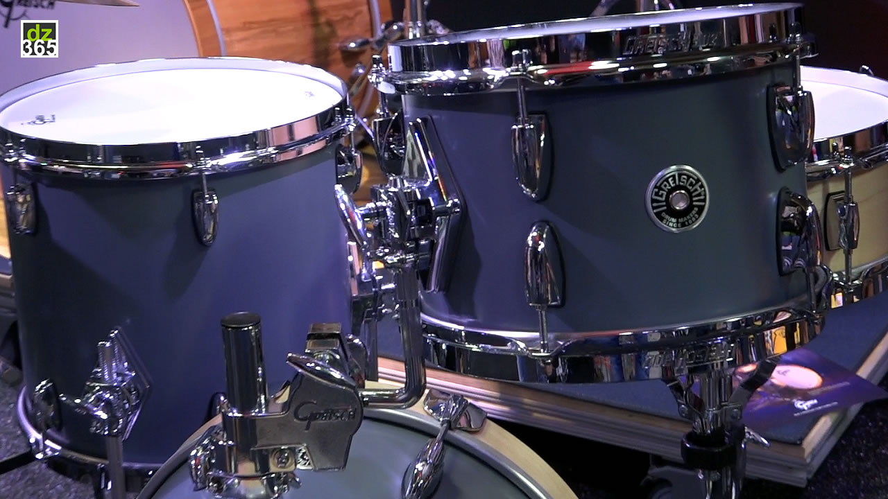 The 2019 Gretsch Brooklyn Micro kit in a one-minute demo