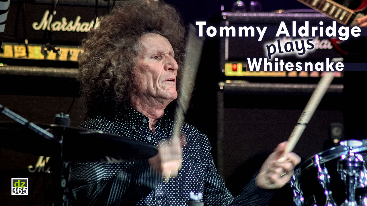 Tommy Aldridge received a standing ovation at Remo Drummer Night 2017
