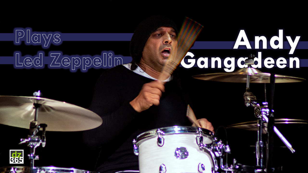 Watch Andy Gangadeen Rock on John Bonham's 'Rock and Roll'