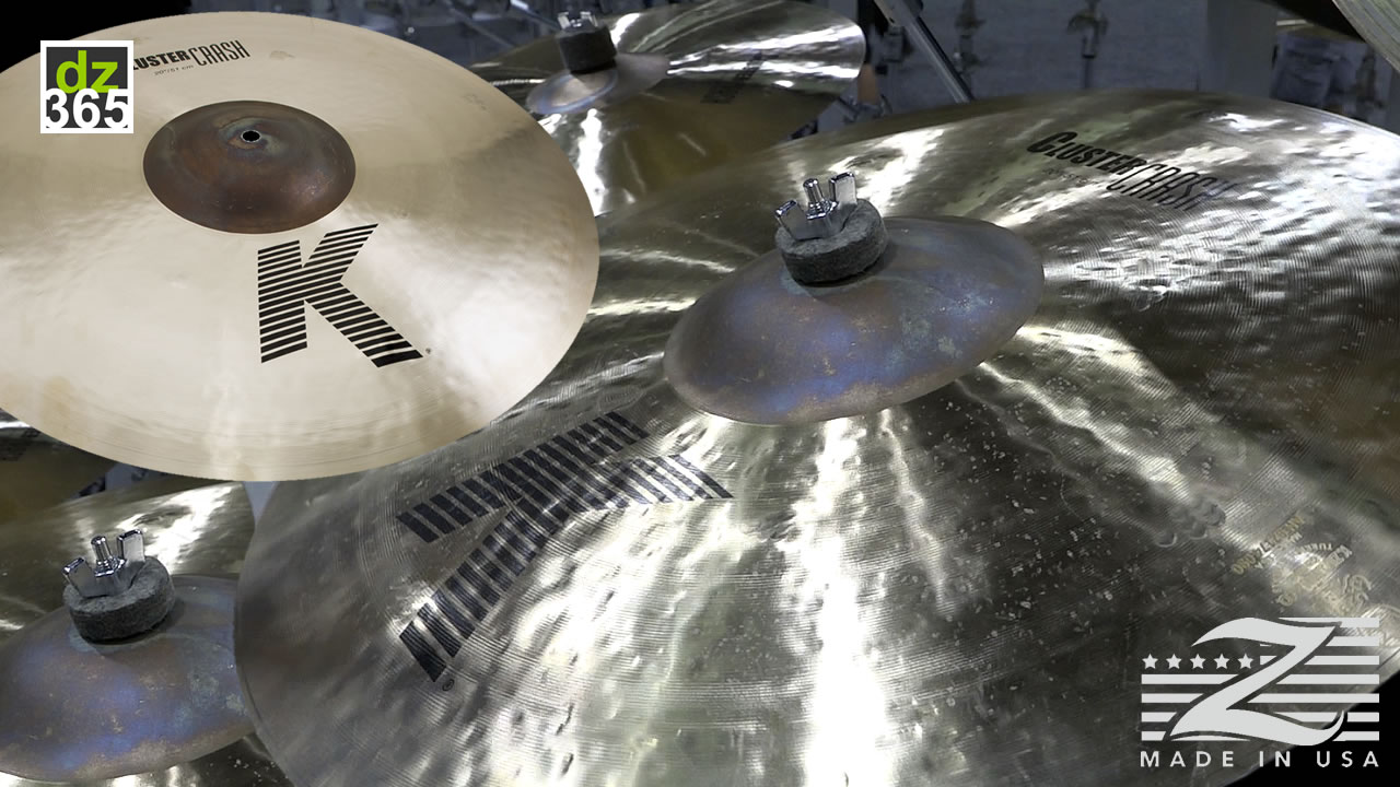 Watch the Zildjian Cluster Crashes & 14