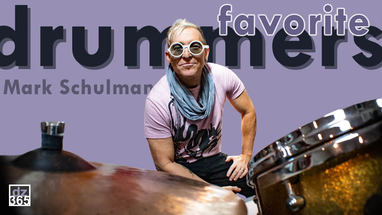 Why Jeff, Vinnie and Buddy are the Top 3 of Mark Schulman's favorite drummers