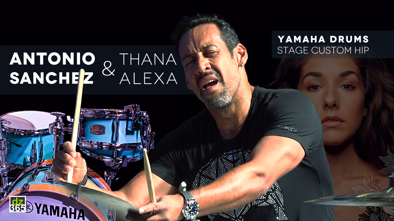 Antonio Sanchez and Thana Alexa improv demoing the Yamaha Stage Custom Hip drum kit