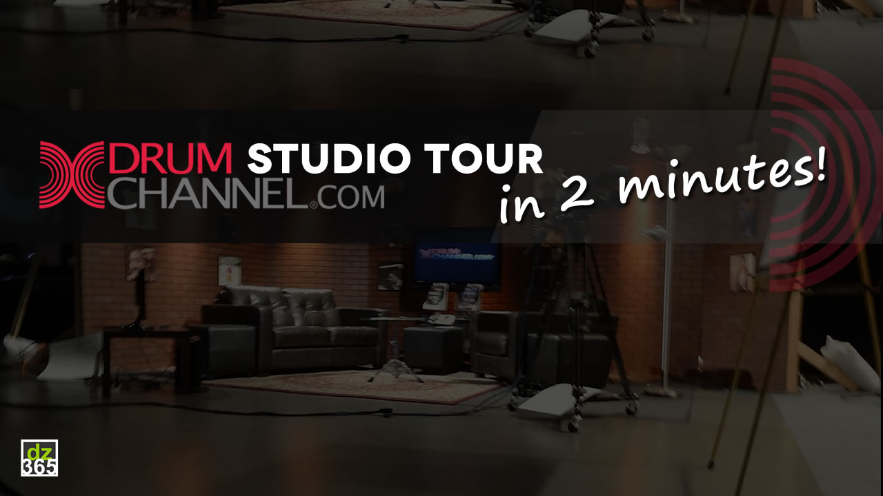 A 2-minute Drumchannel Studio Tour