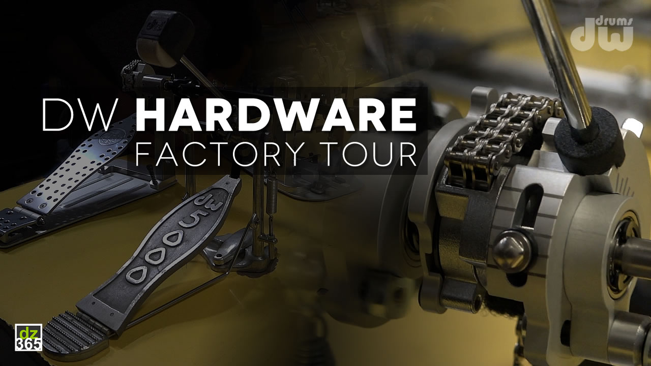 DW Drum Workshop Hardware Factory Tour plus more!