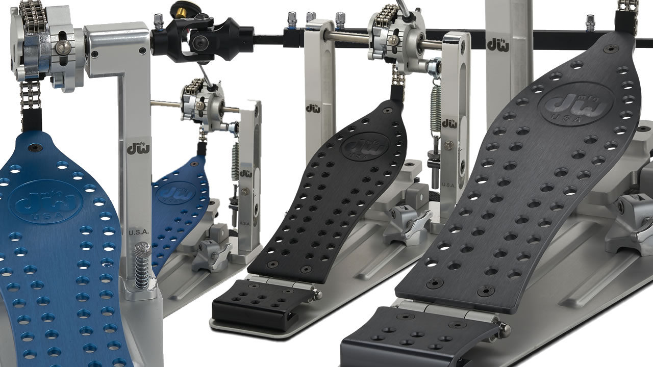 Drum Workshop Literally added Color to their Drum Pedals