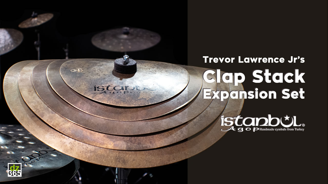 Istanbul Agop expands Clap Stack with new cymbals - with Trevor Lawrence Jr.