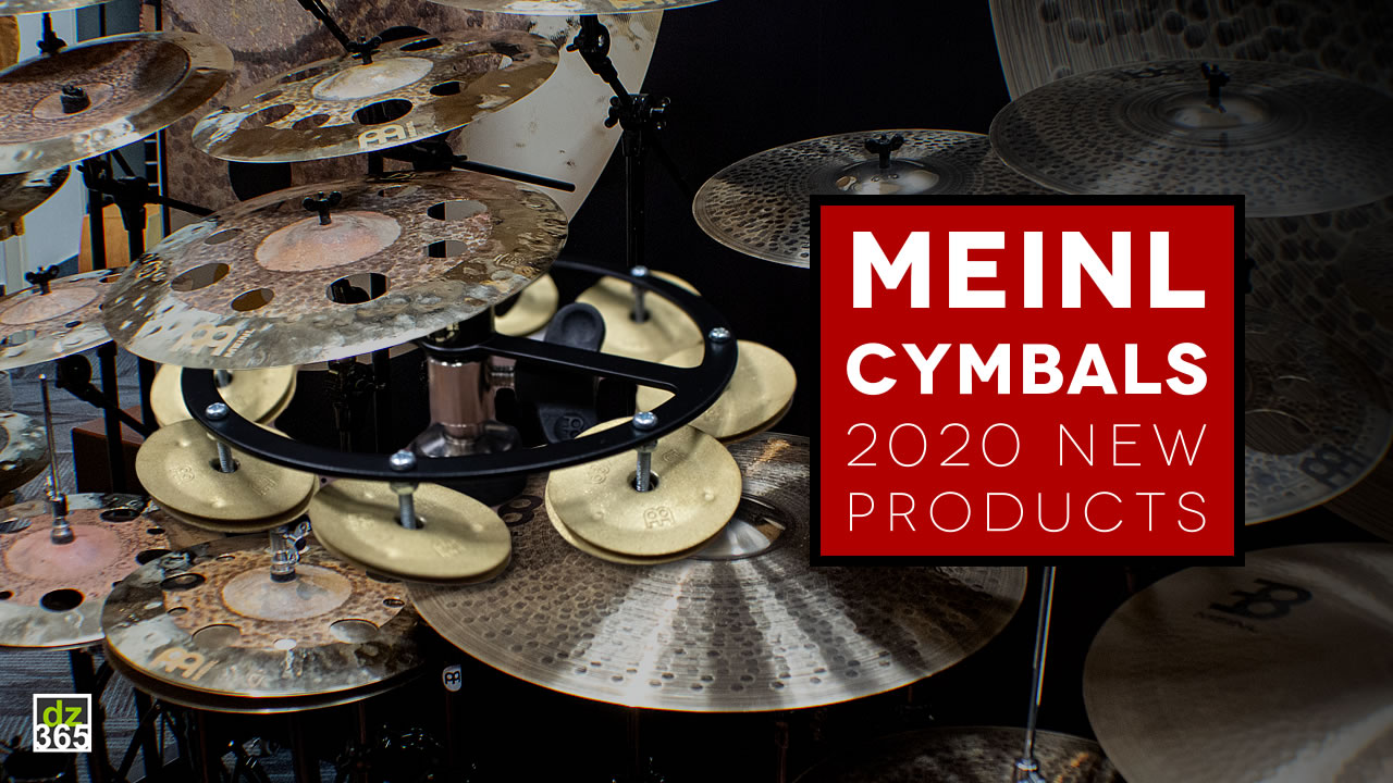 The new Meinl cymbals for 2020 in a 5-minute demo