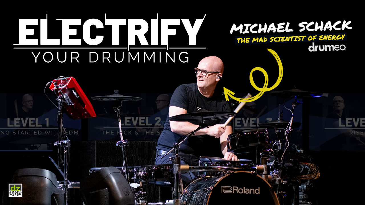 Michael Schack just changed the entire game on drum lessons on Drumeo