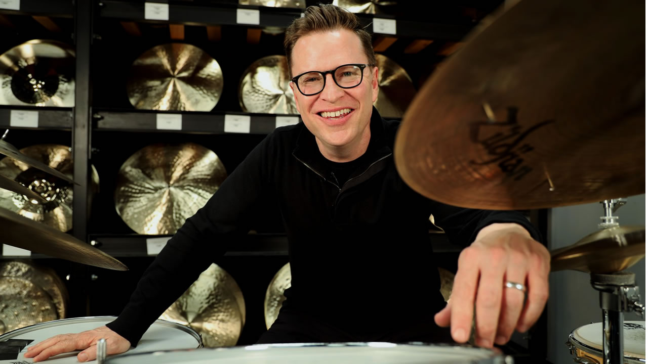 Stanton Moore now plays Zildjian cymbals