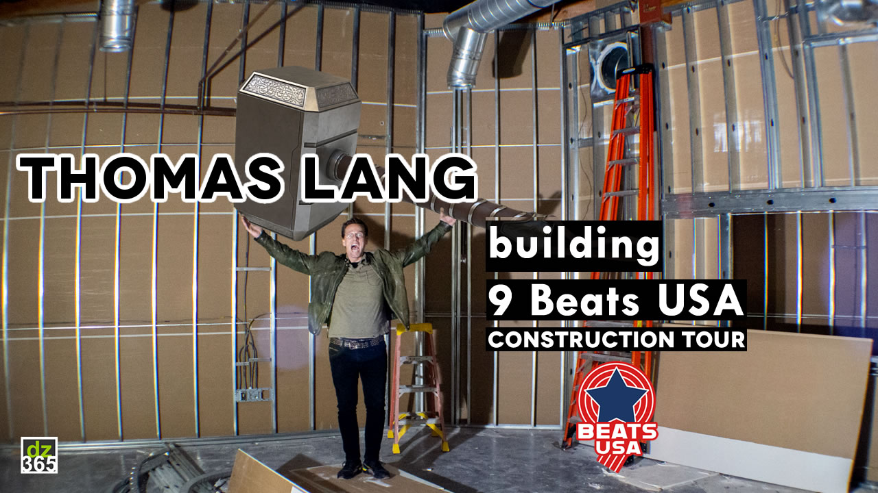 Thomas Lang gives a full construction tour of the 9 Beats USA Drum School