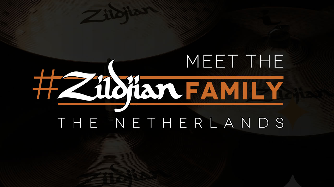 Meet the Dutch #ZildjianFamily and 12 Zildjian Questions answered